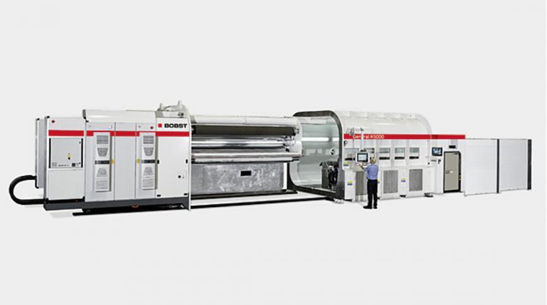 K5000 – Metalizador de vacío