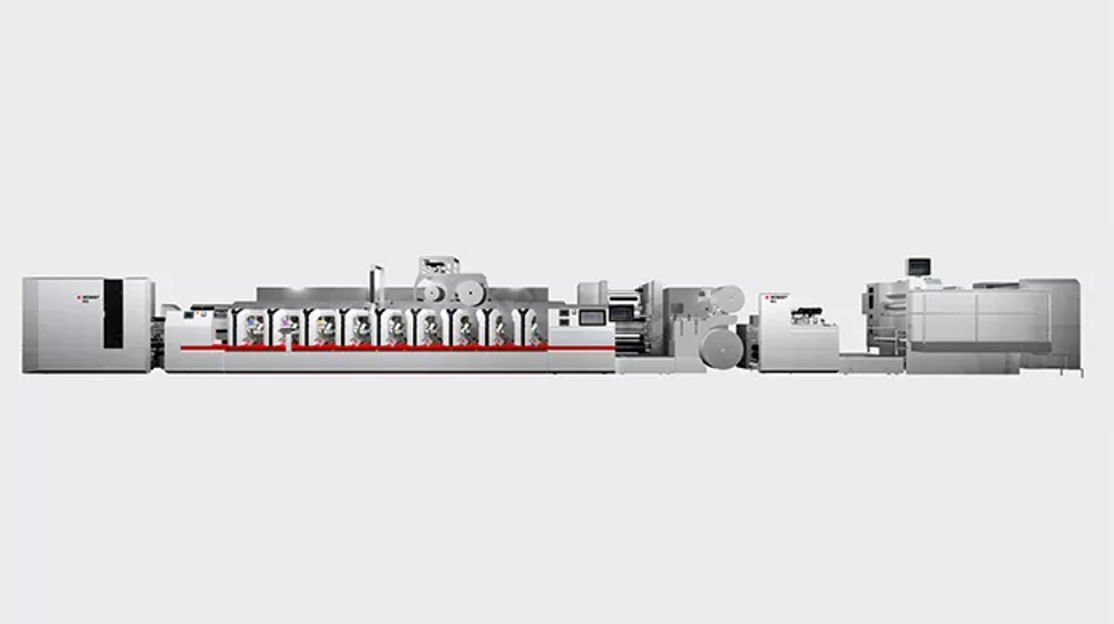 Línea M6 – Máquina de imprimir para etiquetas y embalaje flexible